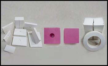 氧化铝耐磨陶瓷贴片