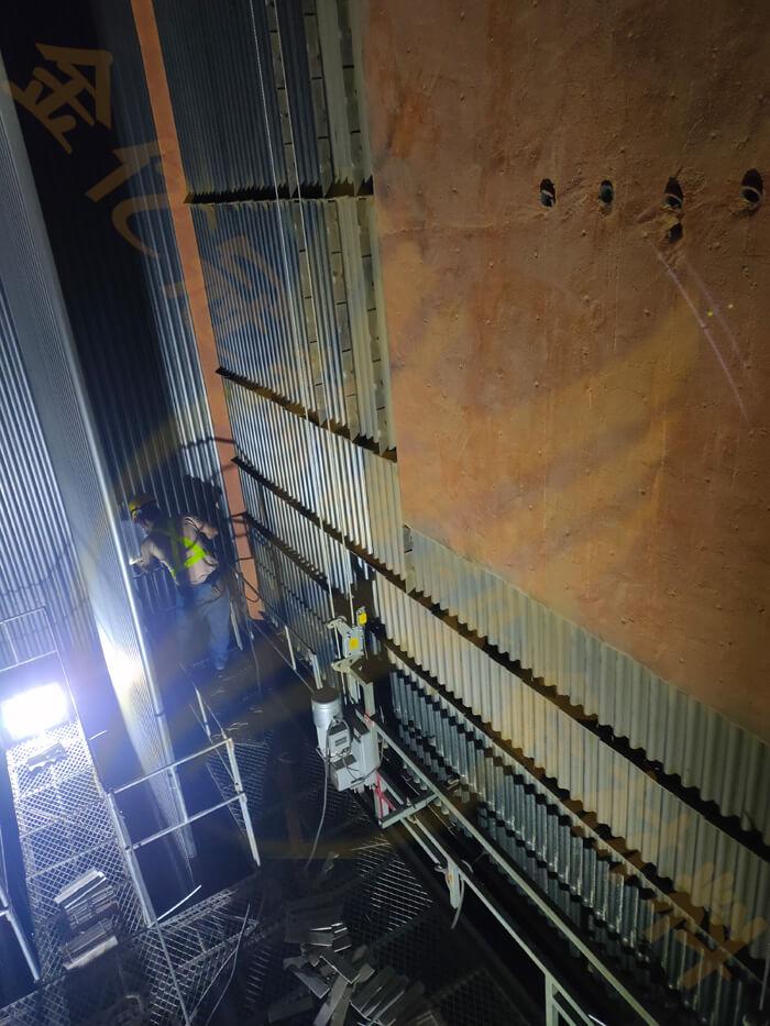CFB循环流化床锅炉格栅防磨EVI多维融合防磨技术使用效果
